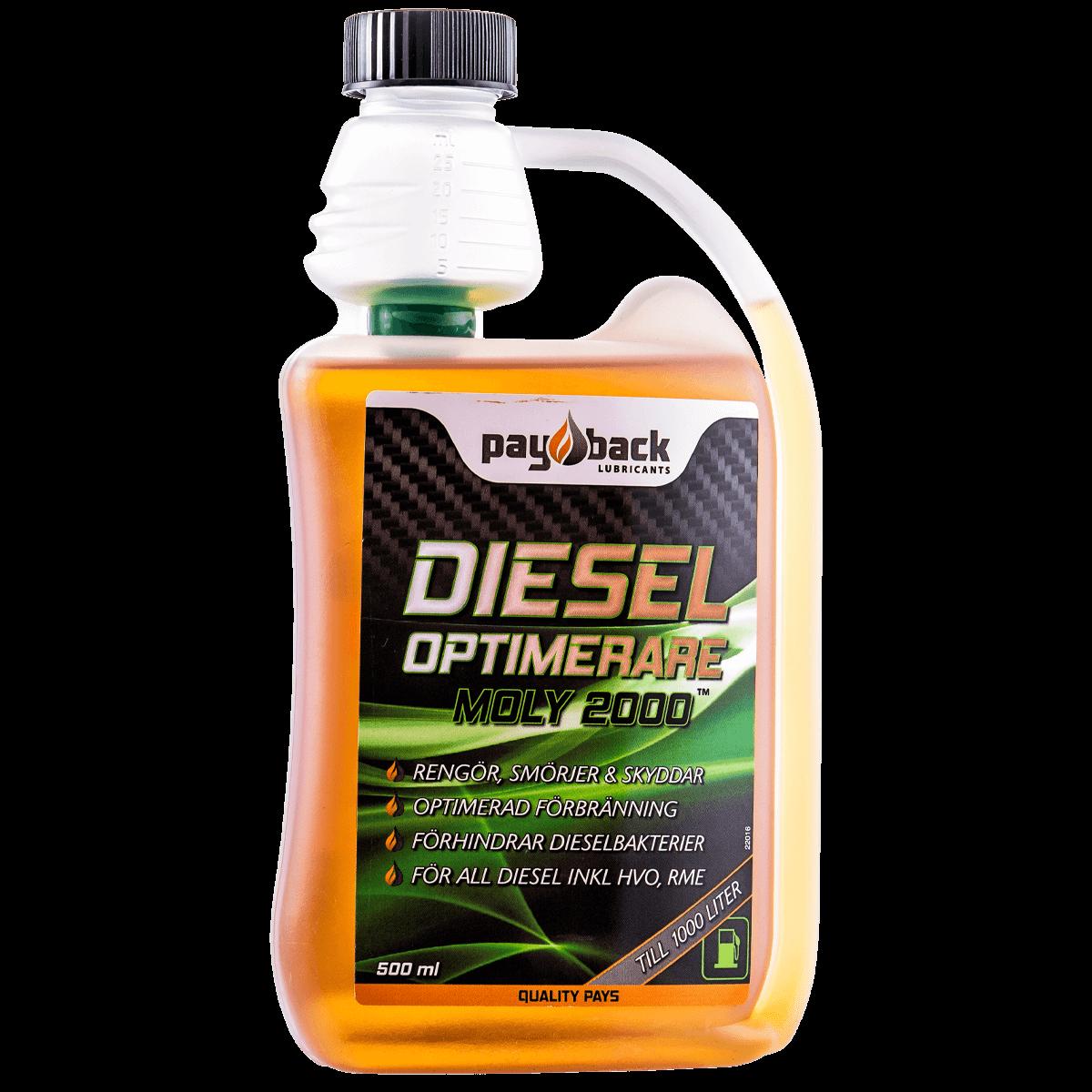 Bränsletillsats - världsmarknadens effektivast dieseladditiv.